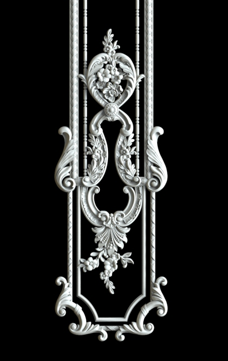 Гипсовый декор Д176-3.Гипсовая лепнина Аврора (Краснодар)