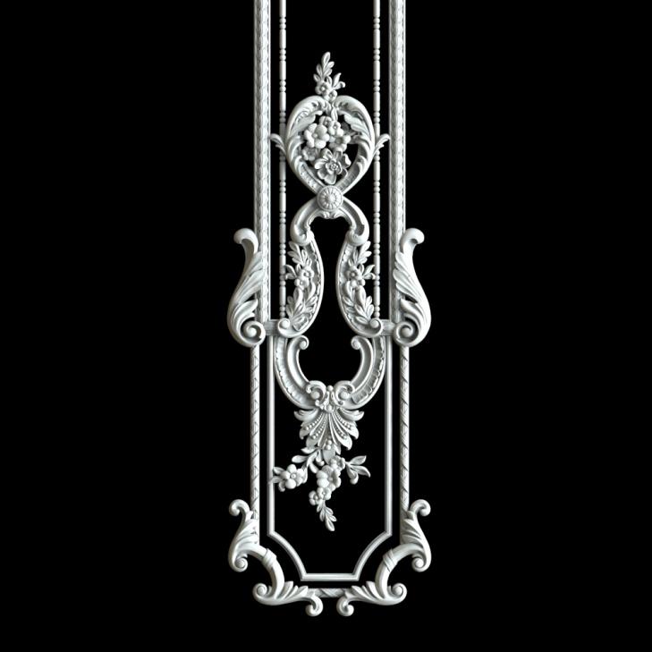 Гипсовый декор Д176-3. Гипсовая лепнина Аврора (Краснодар)