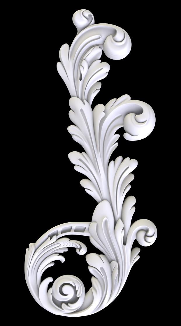 Гипсовый декор Д30 Гипсовая лепнина Аврора (Краснодар)
