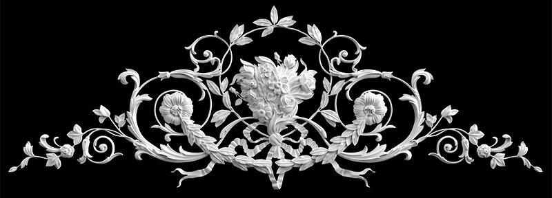 Гипсовый декор Д88 Гипсовая лепнина Аврора (Краснодар)