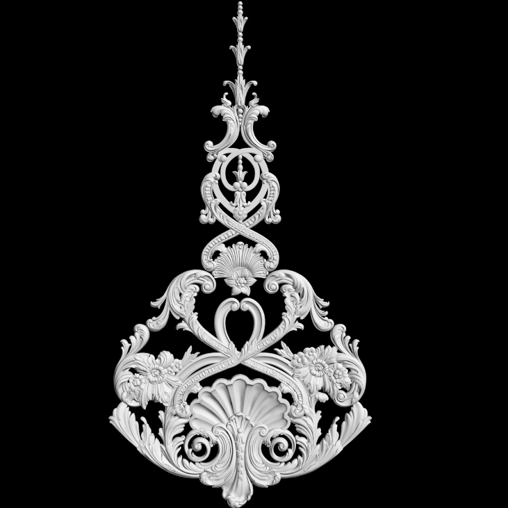 Гипсовый декор 95 и гипсовый декор Д96. Гипсовая лепнина аврора (Краснодар)