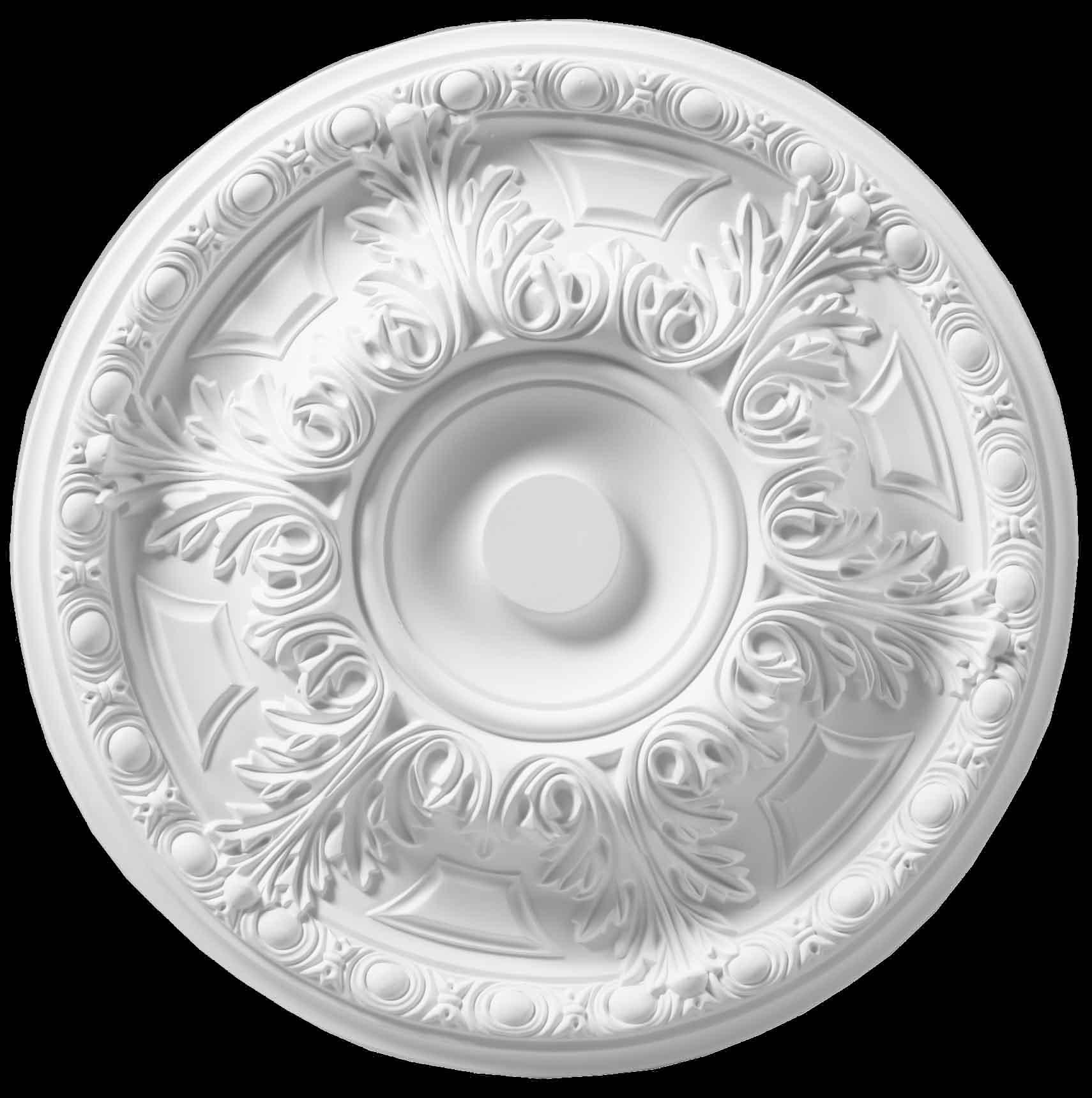 Гипсовые потолочные розетки П20 диаметр 60 см