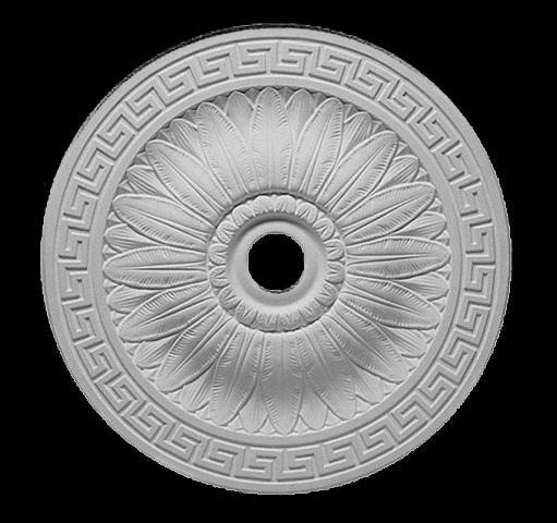 гипсовая потолочная розетка п333 диаметр 51 см