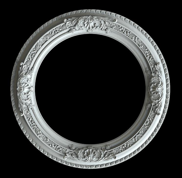 гипсовая потолочное кольцо КО1 диаметр 98 см