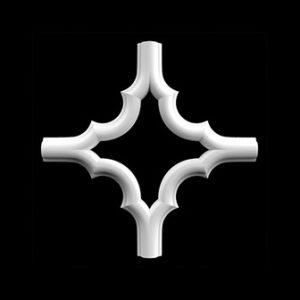 Гипсовая лепнина Аврора декор Д186