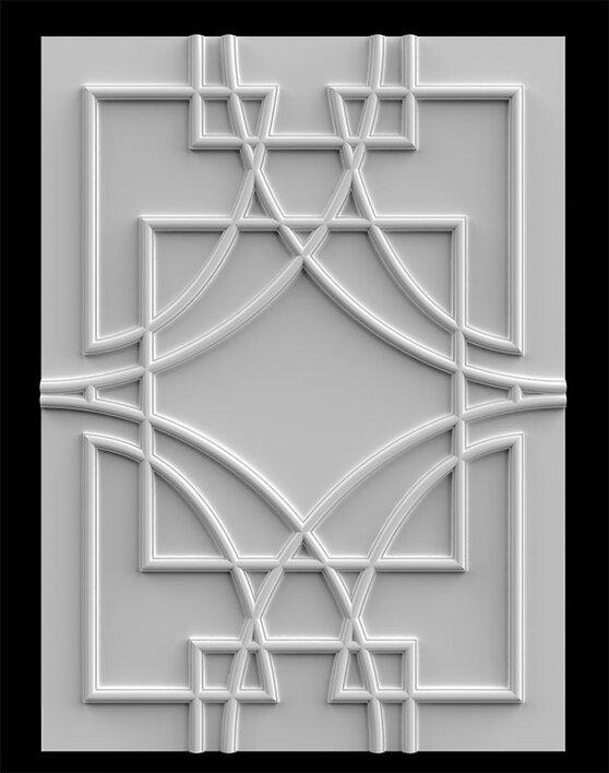 гипсовый декор Д185 гипсовая лепнина