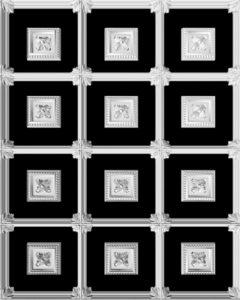 гипсовая потолочная система Д61 Д63