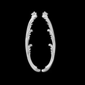 гипсовый декор Д120 Гипсовая лепнина Аврора