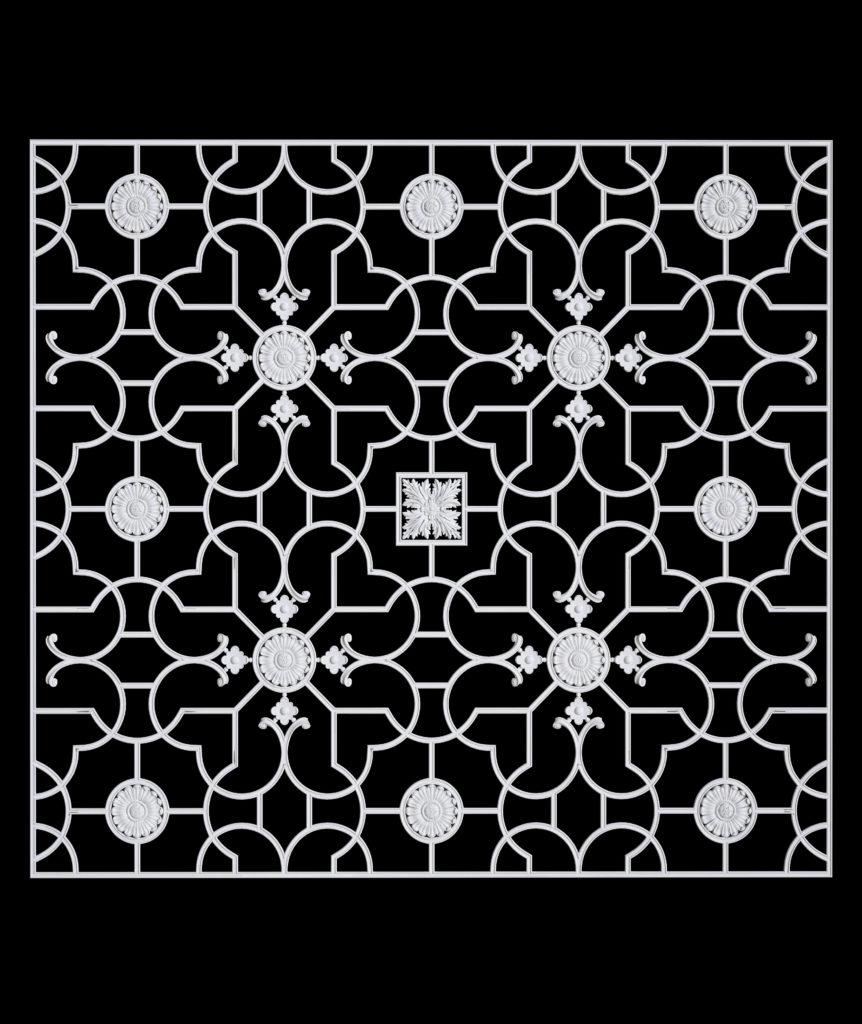 Гипсовый декор Д245 гипсовая лепнина Аврора