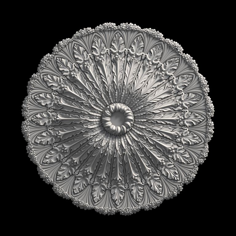 гипсовая розетка АП89 Гипсовая лепнина Аврора (Краснодар)