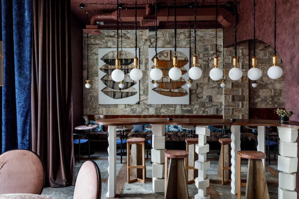 Кафе в Краснодаре. Дизайн Я.Аспанадзе